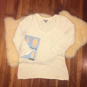 J Jill Blend Knit Sweater Size S BOHO Soft